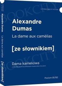 Dama kameliowa wersja francuska z podręcznym słownikiem
