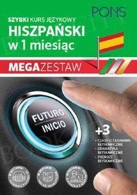Szybki kurs Hiszpański w 1 miesiąc Mega Zestaw: Kurs + tablice: czasy i czasowniki, gramatyka, podróże