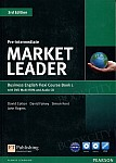 Market Leader 3rd Edition Pre-Intermediate Coursebook with DVD-ROM FLEXI 1