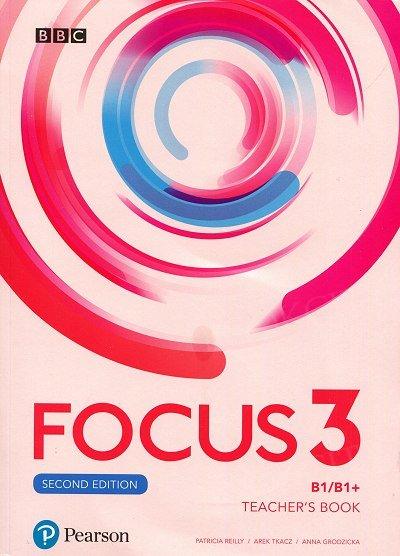 Focus 3 Second Edition Teacher's Book plus płyty audio, DVD-ROM i kod dostępu do Digital Resources