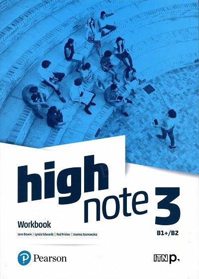 High Note 3 Workbook + kod (MyEnglishLab + Online Practice)