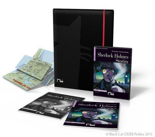 Black Cat Reading Programme - Sherlock Holmes Stories - Reading & Training Książka + Digital Reader + materiały dodatkowe + plakaty