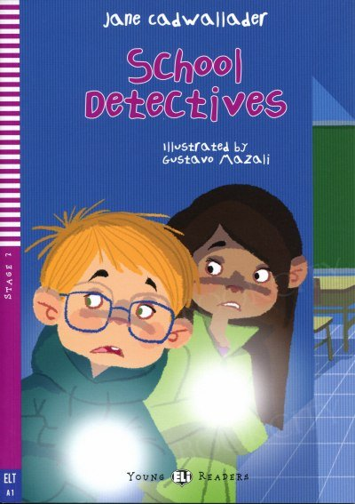 School detectives Książka + audio online