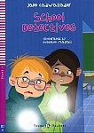 School detectives Książka + audio online