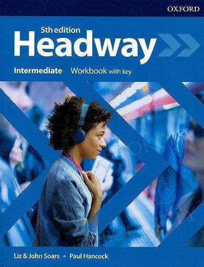 Headway (5th Edition) Intermediate Workbook with Key