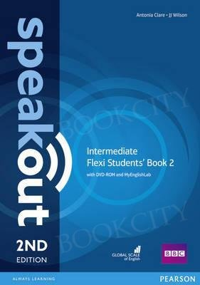 Speakout Intermediate (2nd edition) Student's Book Flexi 2 with MyEnglishLab
