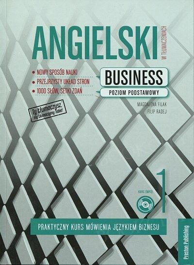 Angielski w tłumaczeniach. Business 1 Książka + CD mp3