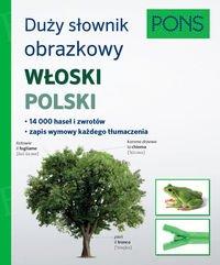 Duży słownik obrazkowy Włoski Polski Pons