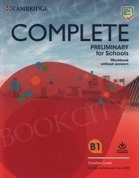 Complete Preliminary for Schools ćwiczenia