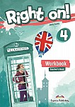 Right on! 4 Teacher's Workbook