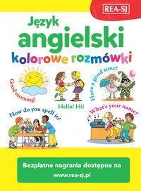 Język angielski - kolorowe rozmówki książka + mp3 online