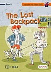 Czytam po angielsku The Lost Backpack / Zagubiony plecak Książka + mp3