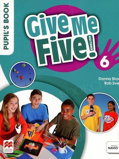 Give Me Five! 6 podręcznik
