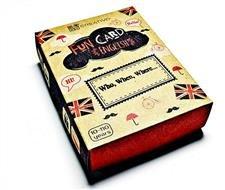 Fun Card English Who, When, Where...