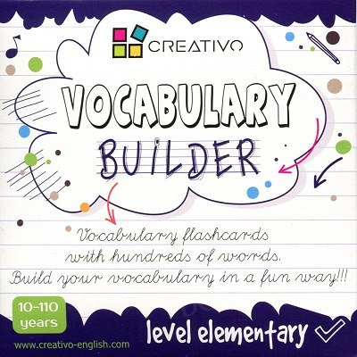 Vocabulary builder Level elementary Karty językowe