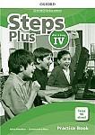 Steps Plus dla klasy 4 Materiały ćwiczeniowe z kodem dostępu do Online Practice