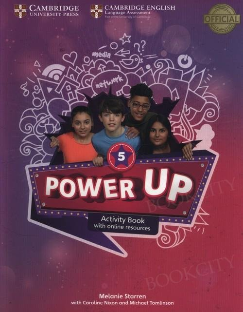 Power Up 5 Activity Book with Online Resources and Home Booklet