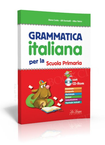 Grammatica italiana per la Scuola Primaria Książka + CD-ROM