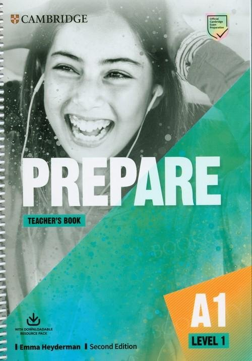 Prepare A1 Level 1 Teacher's Book with Downloadable Resource Pack