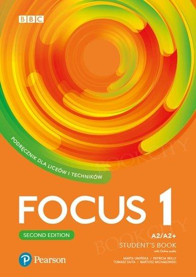 Focus 1 Second Edition Student's Book + kod (Digital Resources + Interactive eBook + MyEnglishLab)