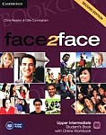 face2face 2nd Edition Upper-Intermediate Student's Book with Online Workbook