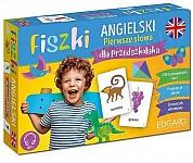 Fiszki. Angielski. Pierwsze słowa dla przedszkolaka Fiszki + mp3 online