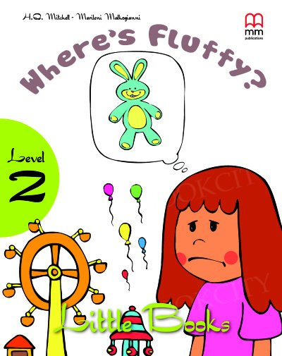 Where's Fluffy? Book with CD