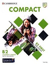 Compact  B2 First Student's Book with Answers