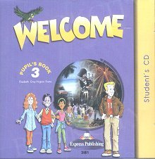 Welcome 3 Class Audio CDs  (set of 3)