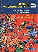 Primary Vocabulary Box Book