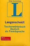 Taschenwoerterbuch Deutsch als Fremdsprache NE
