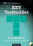 KET Testbuilder Book without key + CD Pack