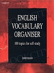 English Vocabulary Organiser. 100 Topics for Self Study