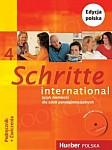 Schritte international 4 Kurs und Arbeitsbuch mit CD zum AB PL und Zeszyt ucznia XXL