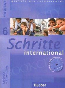 Schritte international 6 Kurs und Arbeitsbuch mit CD zum AB PL und Zeszyt ucznia XXL