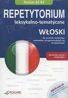 Włoski. Repetytorium leksykalno-tematyczne Książka + Audio CD