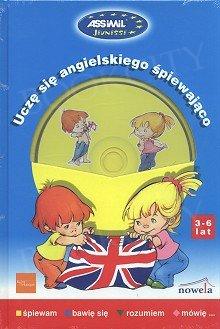 Uczę się angielskiego śpiewająco (3-6 lat) Książka + CD audio