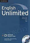 English Unlimited C1 Advanced Teacher's Pack (Teacher's Book with DVD-ROM)