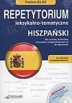 Hiszpański. Repetytorium leksykalno-tematyczne Poziom B1 - B2 Książka + Audio CD