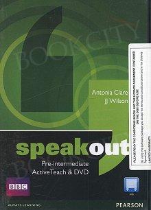 Speakout Pre-Intermediate B1 Active Teach
