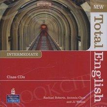 New Total English Intermediate Class Audio CD
