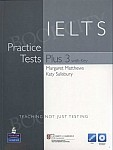 IELTS Practice Tests Plus 3 Tests with Answer Key, iTest CD-ROM & Audio CDs