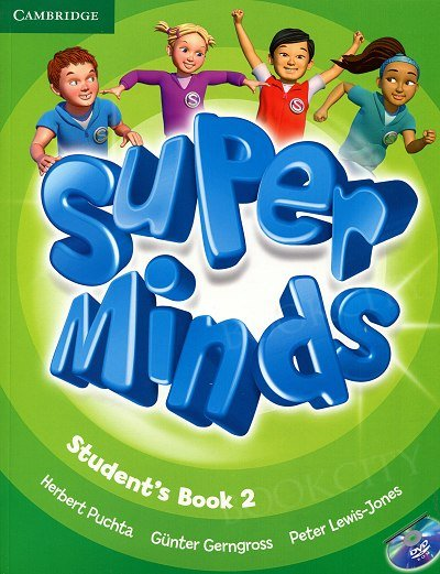 Super Minds 2 Student's Book with DVD-ROM
