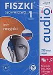 Fiszki Rosyjskie Audio. Słownictwo Słownictwo 1- płyta CD