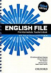 English File Pre-intermediate (3rd Edition) (2012) Teacher's Book & Testing Assessment CD-R