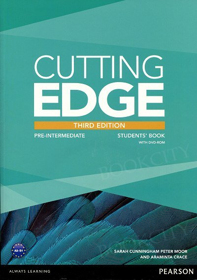 Cutting Edge 3rd Edition Pre-Intermediate Student's Book plus DVD-ROM