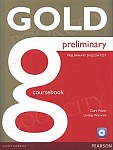 Gold Preliminary Coursebook plus CD-ROM