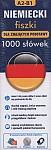Niemiecki fiszki 1000 słówek dla znających podstawy 1000 fiszek+CD-ROM fiszki MP3 z programem i nagraniami+kolorowe przegródki