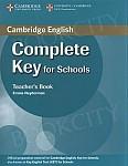 Complete Key for Schools książka nauczyciela