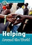 Helping Around The World Book with Audio CD
